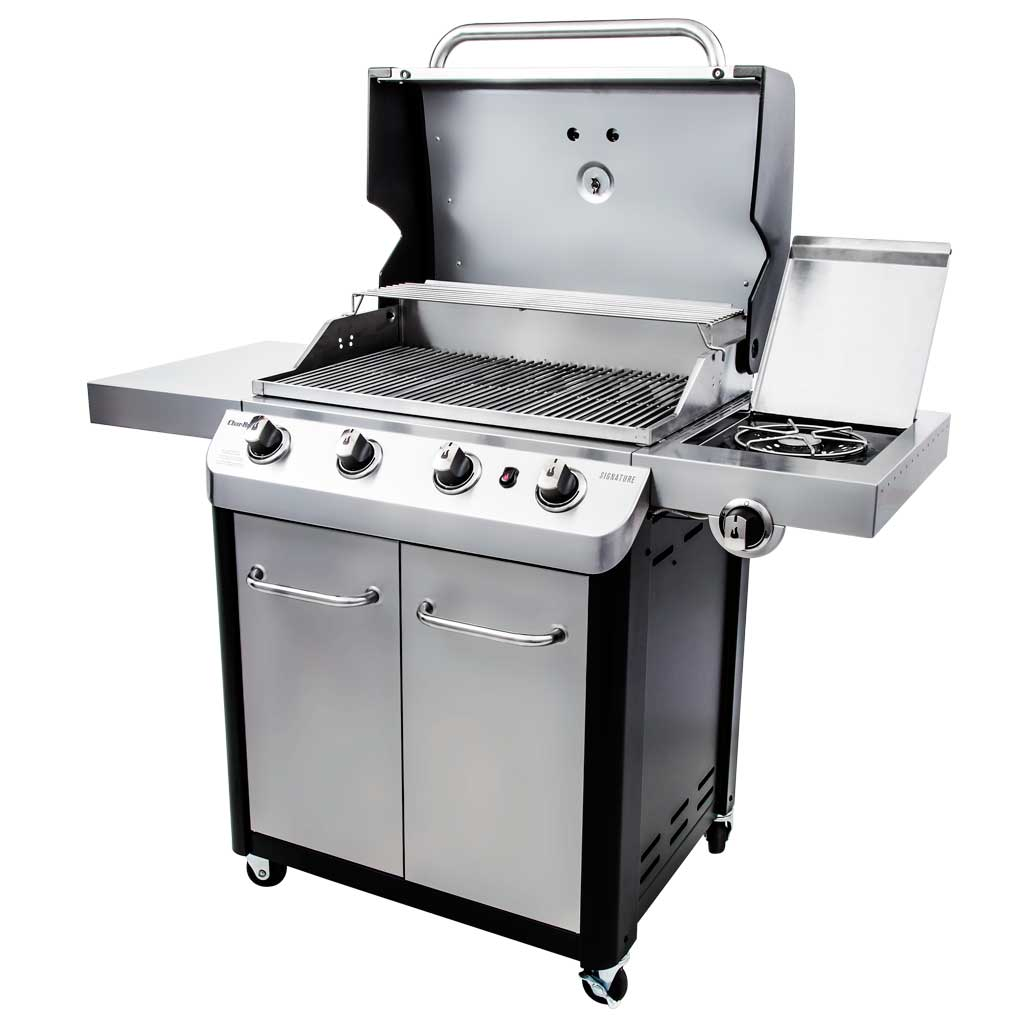 char-broil signature cv 4-burner gas grill