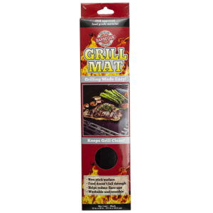 Griiling made easy with Non Stick Grill Mat