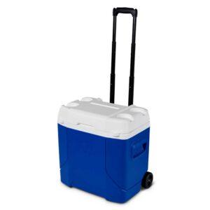Thùng đá có bánh xe kéo Igloo Profile™ 28 Lít (Blue)