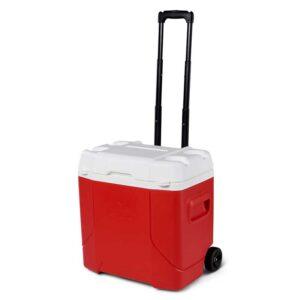 Thùng đá có bánh xe kéo Igloo Profile™ 28 Lít (Red)