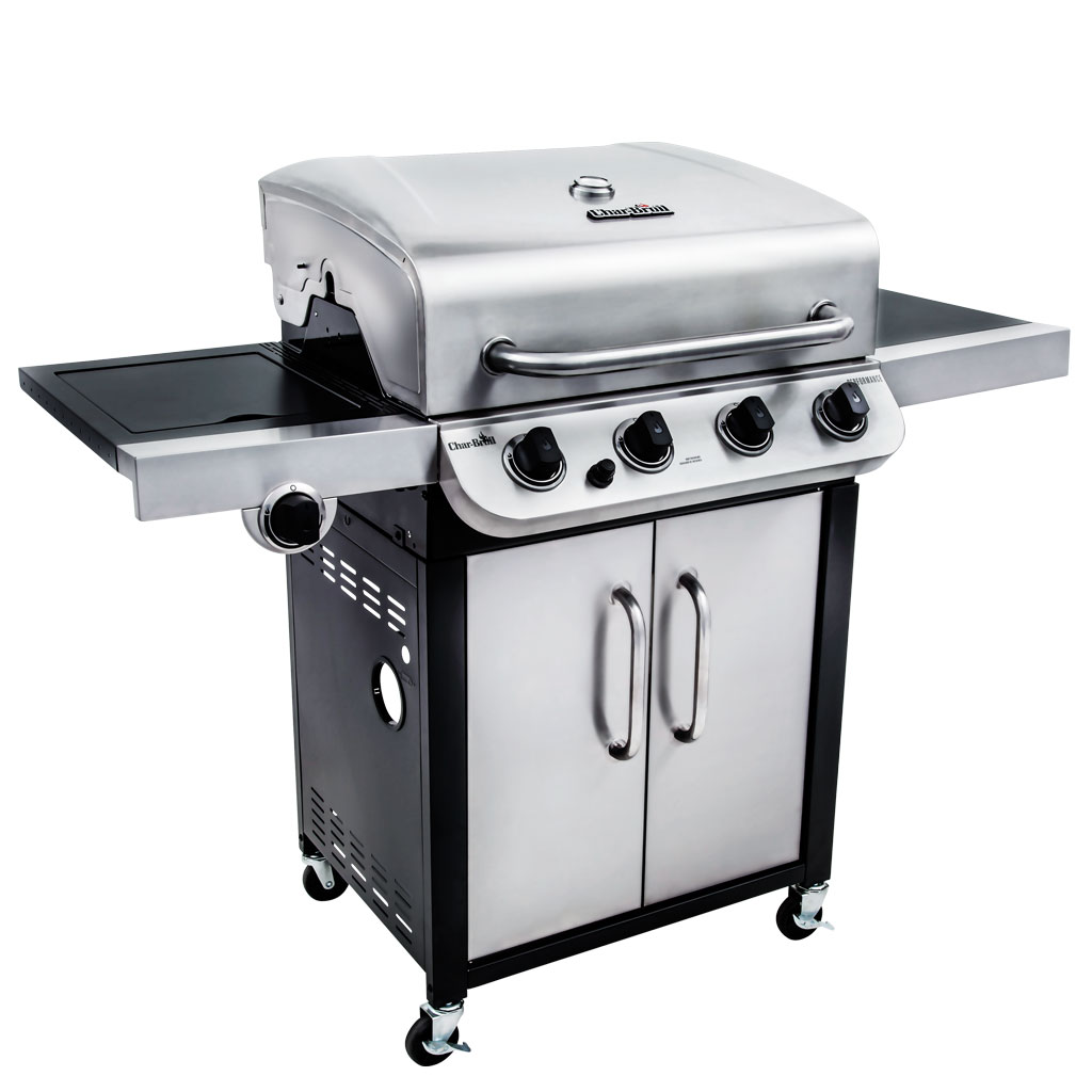 char-broil performance cv 4-burner bbq