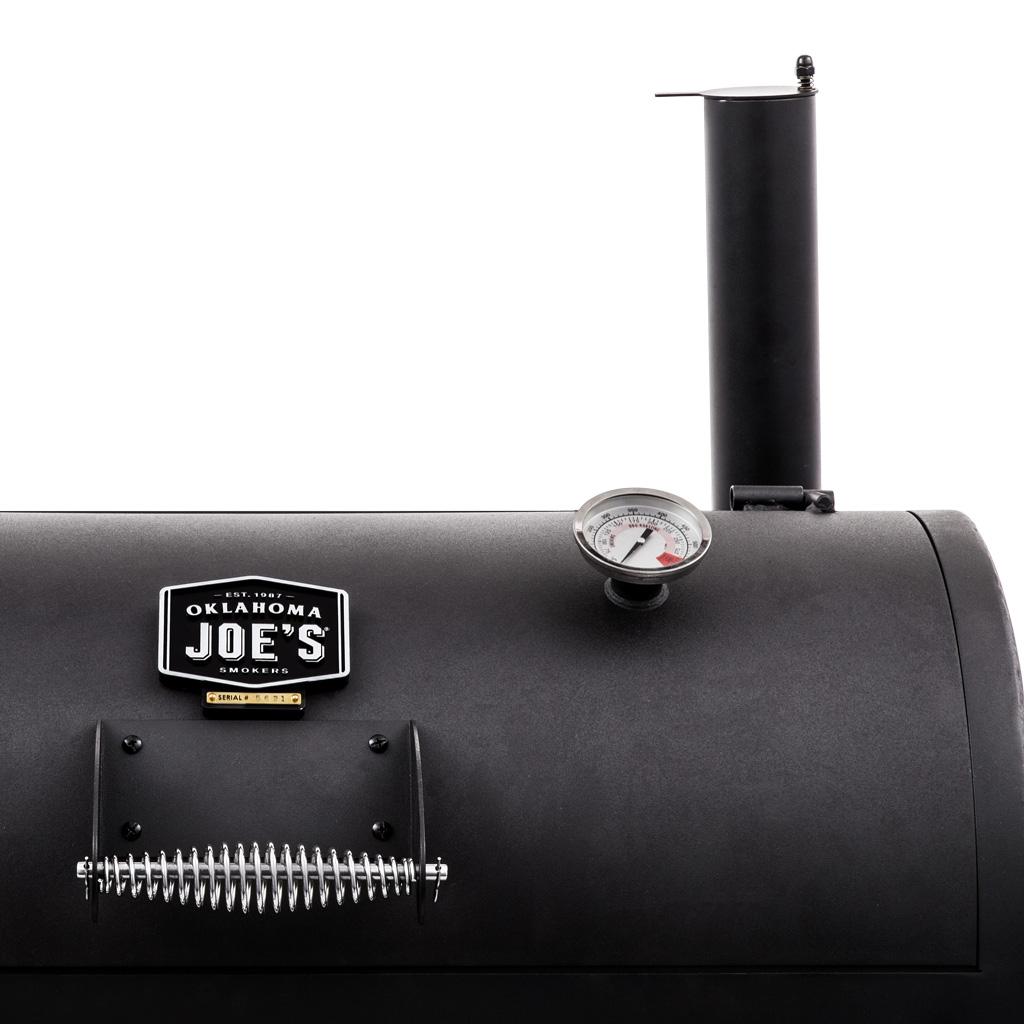 Mua lò xông khói nhập khẩu Oklahoma Joe