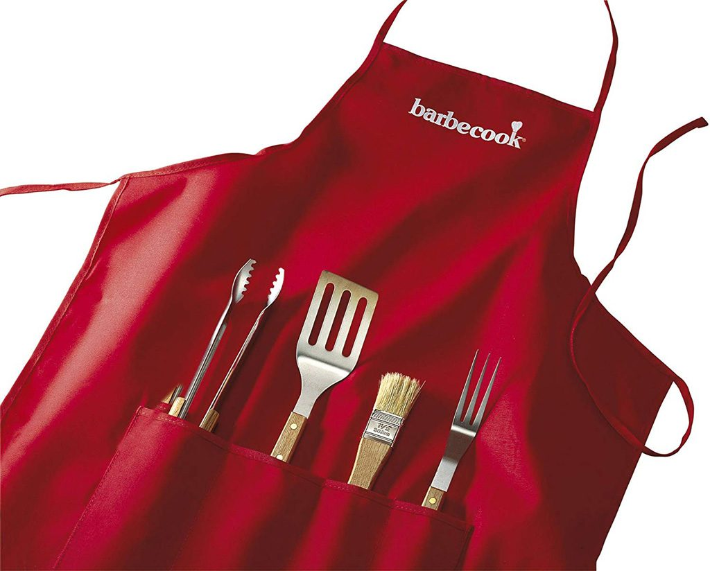 Bộ tạp dề và 4 dụng cụ nướng BBQ Barbecook